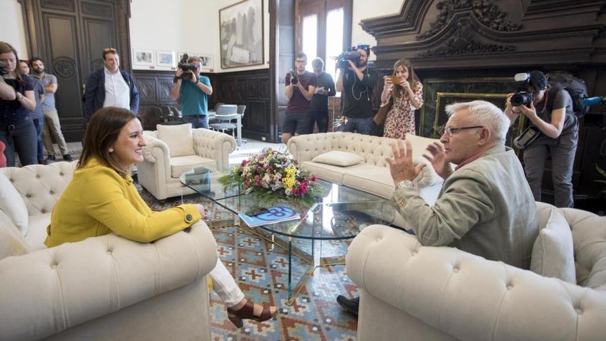 Català apoyará a Ribó en todo lo que sean reivindicaciones al Gobierno