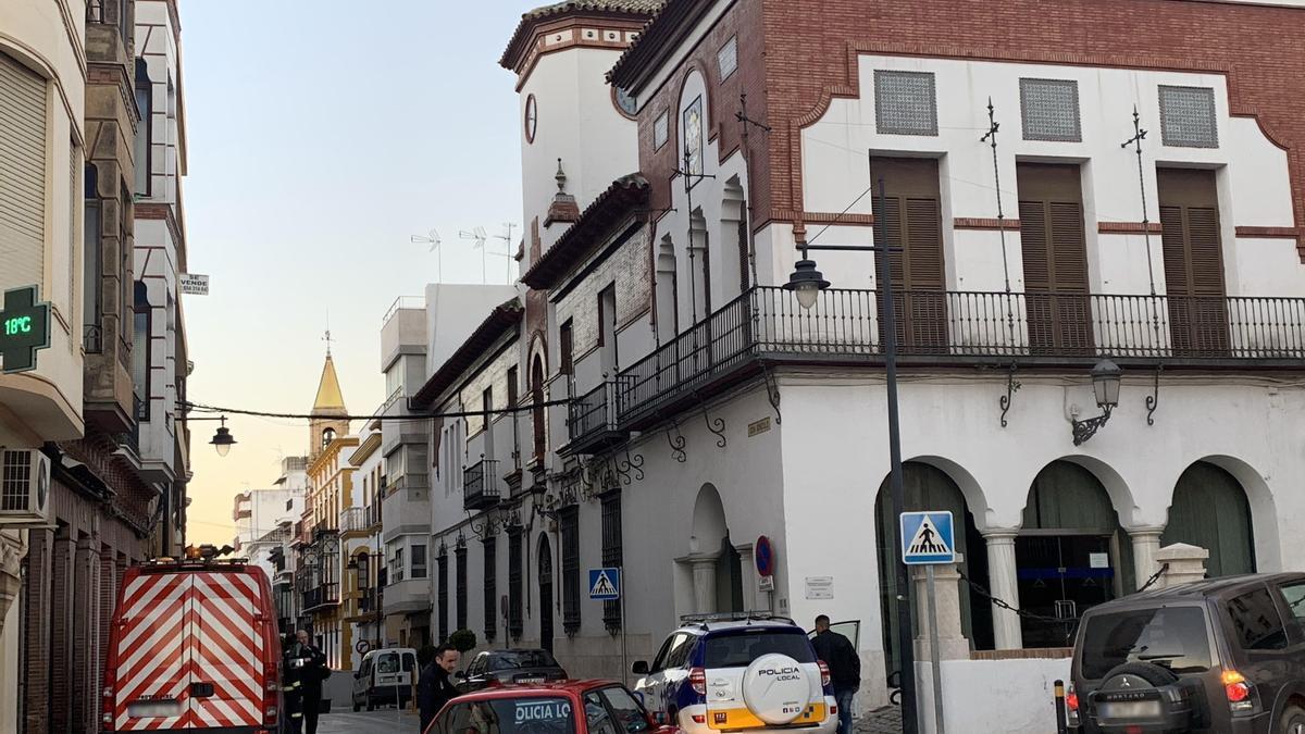 Imagen del edificio del Ayuntamiento de Puente Genil.