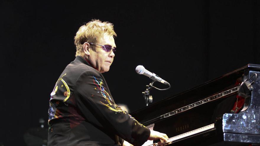 El día que Elton John cantó en Xàtiva