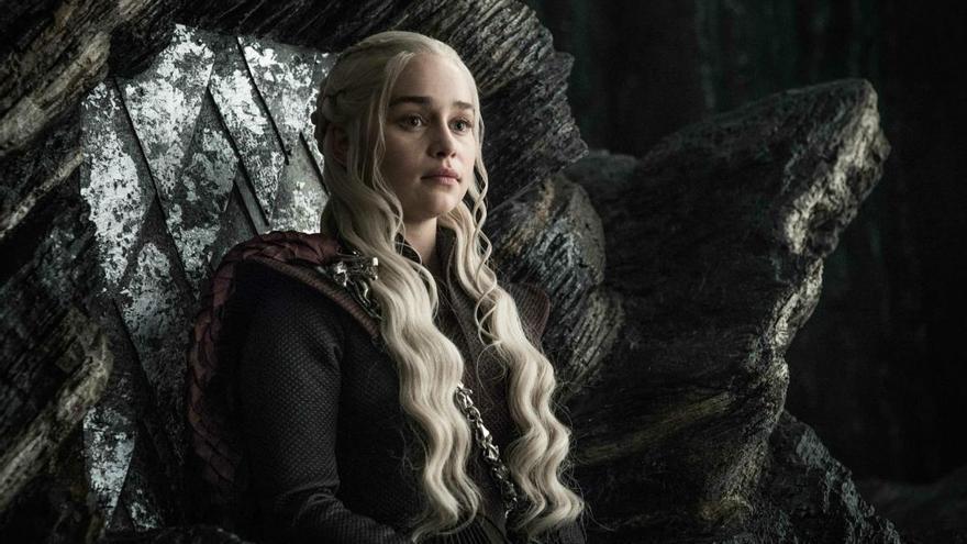 Emilia Clarke improvisó un monólogo en valyrio de Daenerys en 'Juego de tronos'