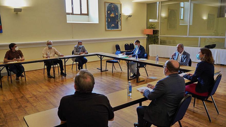 Zamora elaborará un proyecto conjunto para captar fondos europeos