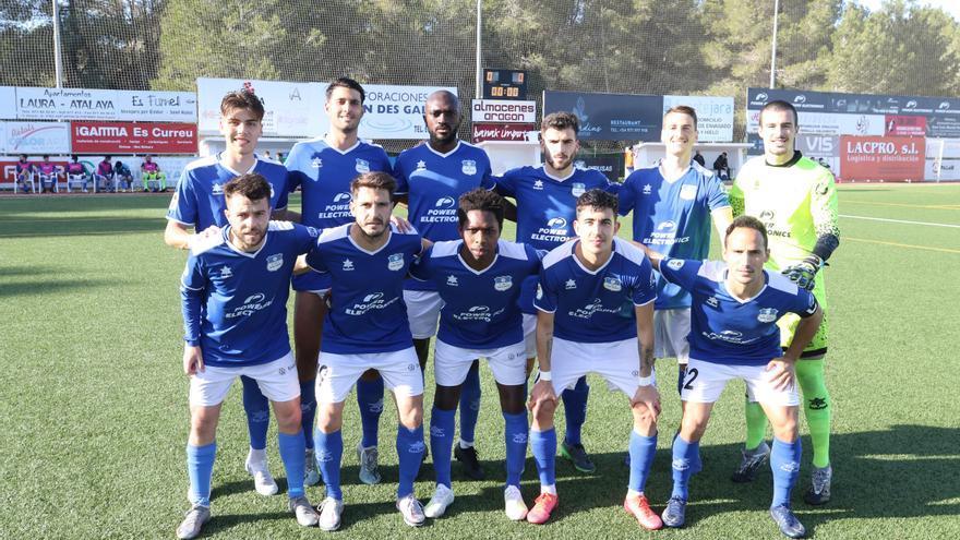 El Sant Rafel empata con el Mallorca B y el Portmany pierde con el Andratx