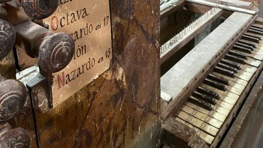 Un pueblo de Castellón quiere restaurar un órgano histórico de 1735