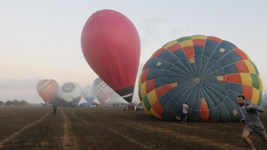 Mit dem Heißluftballon über Mallorca schweben
