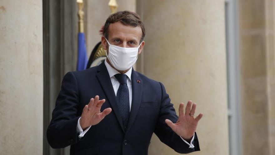 Macron confina Francia hasta el 1 de diciembre