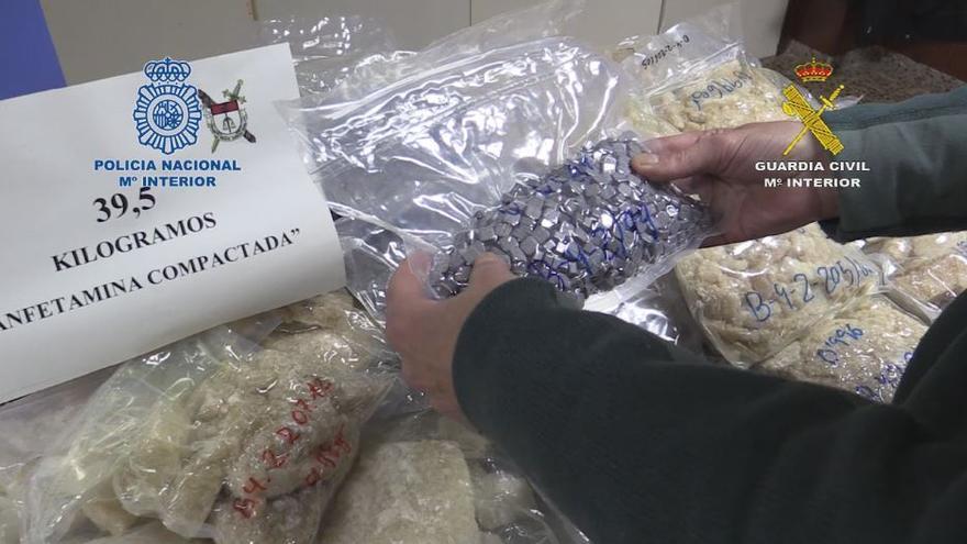Golpe al narcotráfico: incautan la mayor cantidad de drogas sintéticas de la historia de España