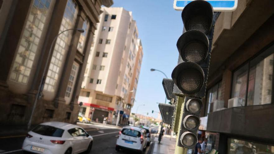 Caos en el tráfico de Tenerife