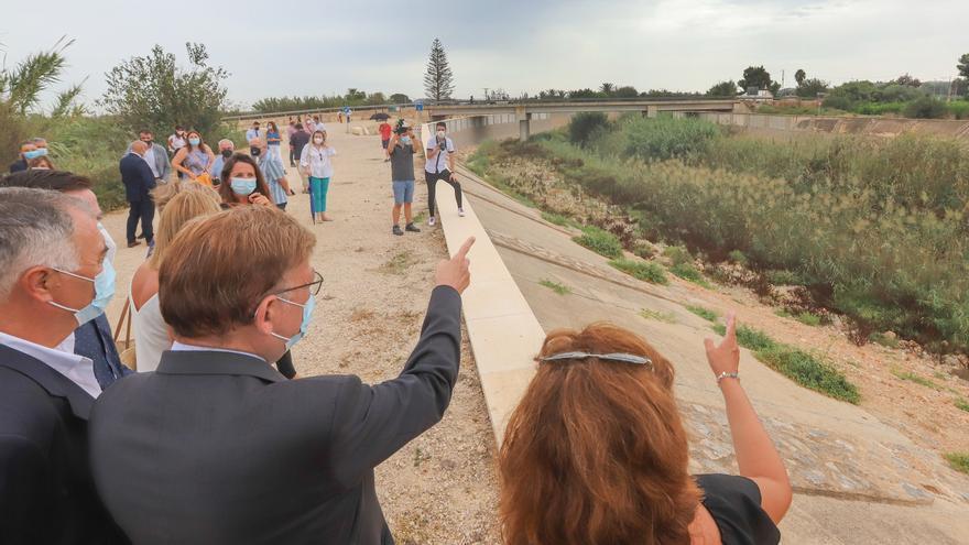 Puig anuncia que pedirá 700 millones de fondos europeos para proyectos frente a inundaciones en la Vega Baja pero no los concreta