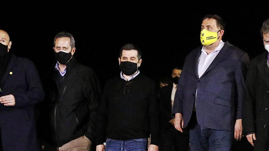 El jutge anul·la la semillibertat als presos independentistes