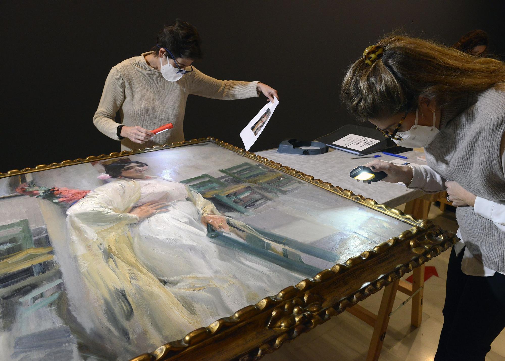 Las obras de Sorolla llega a la Fundación Bancaja para la exposición 'Femenino plural'