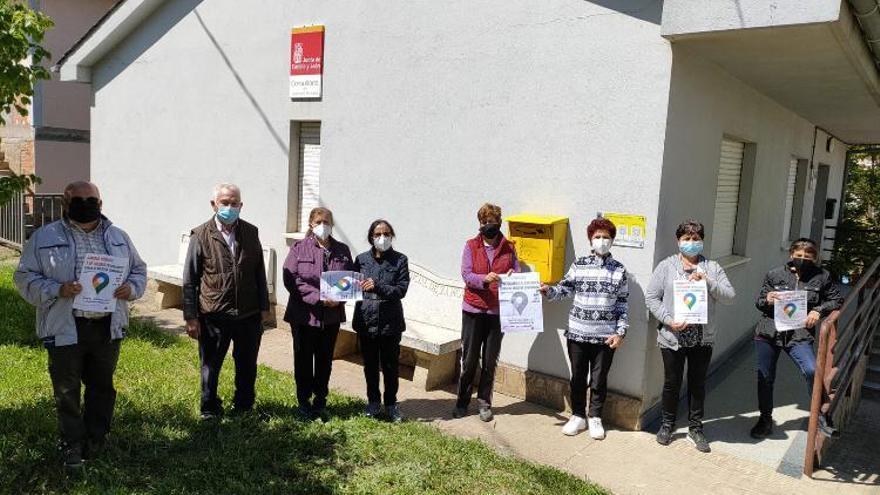Concentraciones en pueblos de Zamora por la sanidad rural