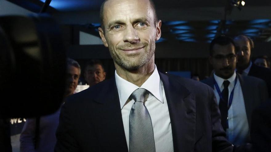 Ceferin, reelegido como presidente de la UEFA