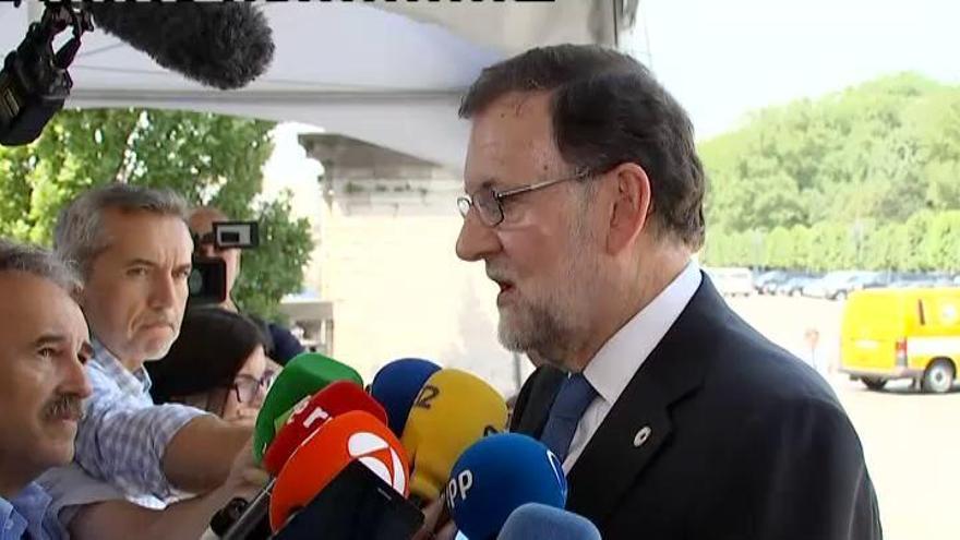 """Rajoy: """"Si no se aprueba el CETA, haríamos el ridículo"""""""