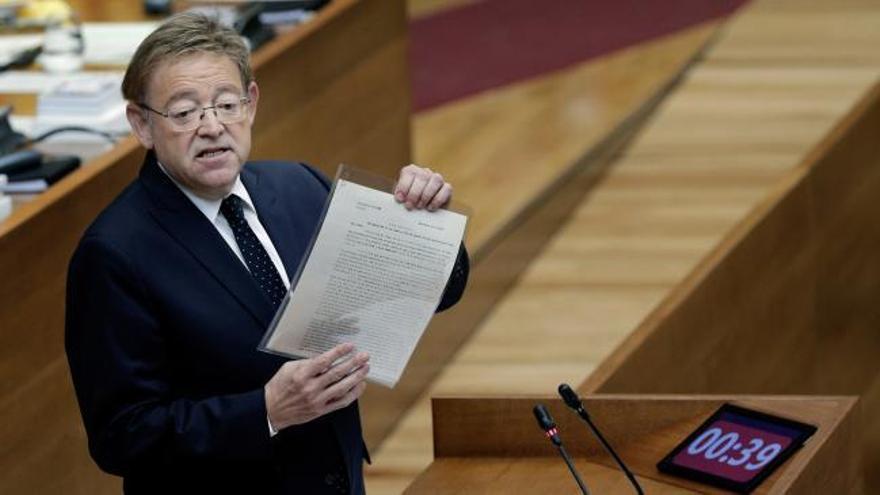 Puig anuncia los presupuestos de 2020 dentro del plazo legal