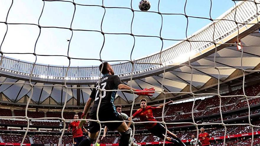 Espanya es queda sense gol