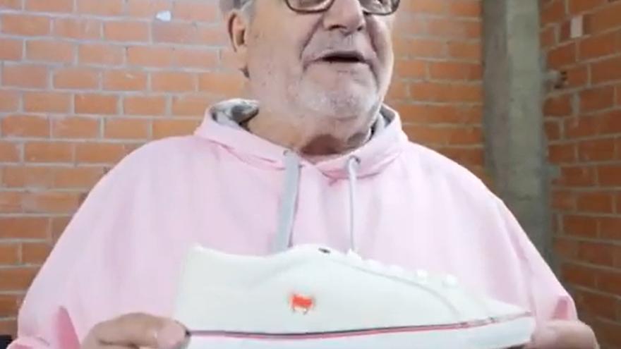 "Laureano Oubiña: ""Con estas zapatillas de alta velocidad ni Garzón ni Zaragoza me habrían cogido en casa"""