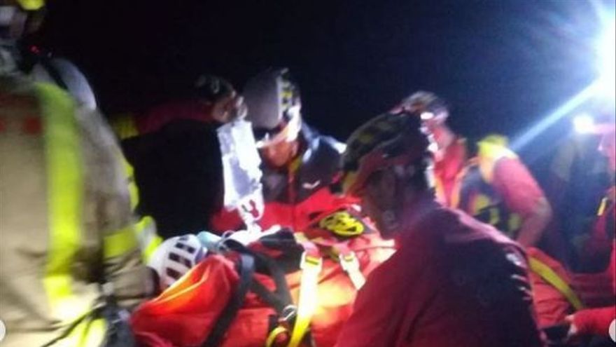 Rescaten un escalador que cau de deu metres a Setcases