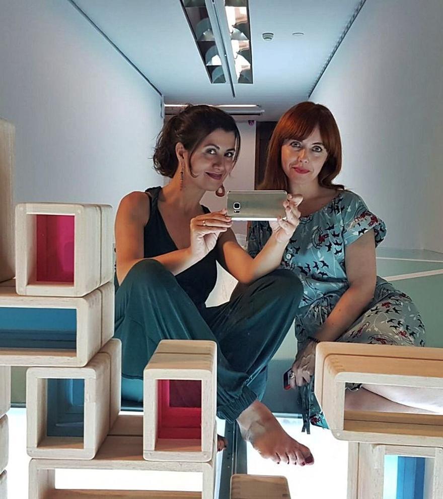 Silvana Andrés i Sonia  Rayos formen  Arquilecturas.  levante-emv | ARQUILECTURAS