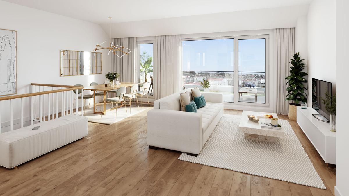 Las viviendas de AEDAS Homes presentan altas calidades y responden a las nuevas preferencias residenciales post confinamiento.