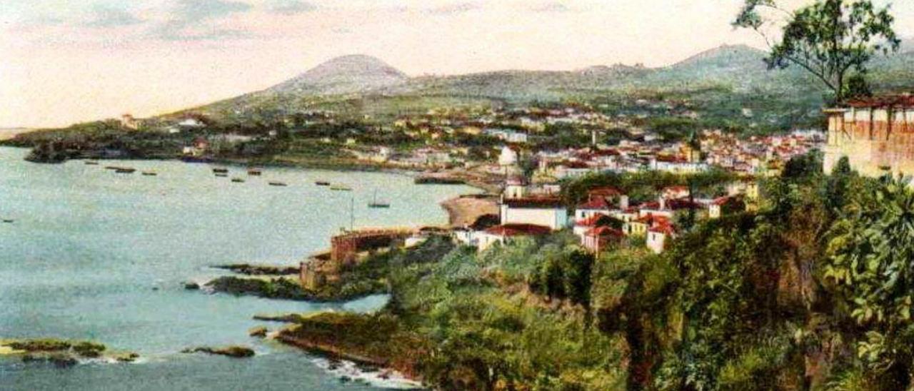 Bahía de Funchal, con el castillo a la vista.