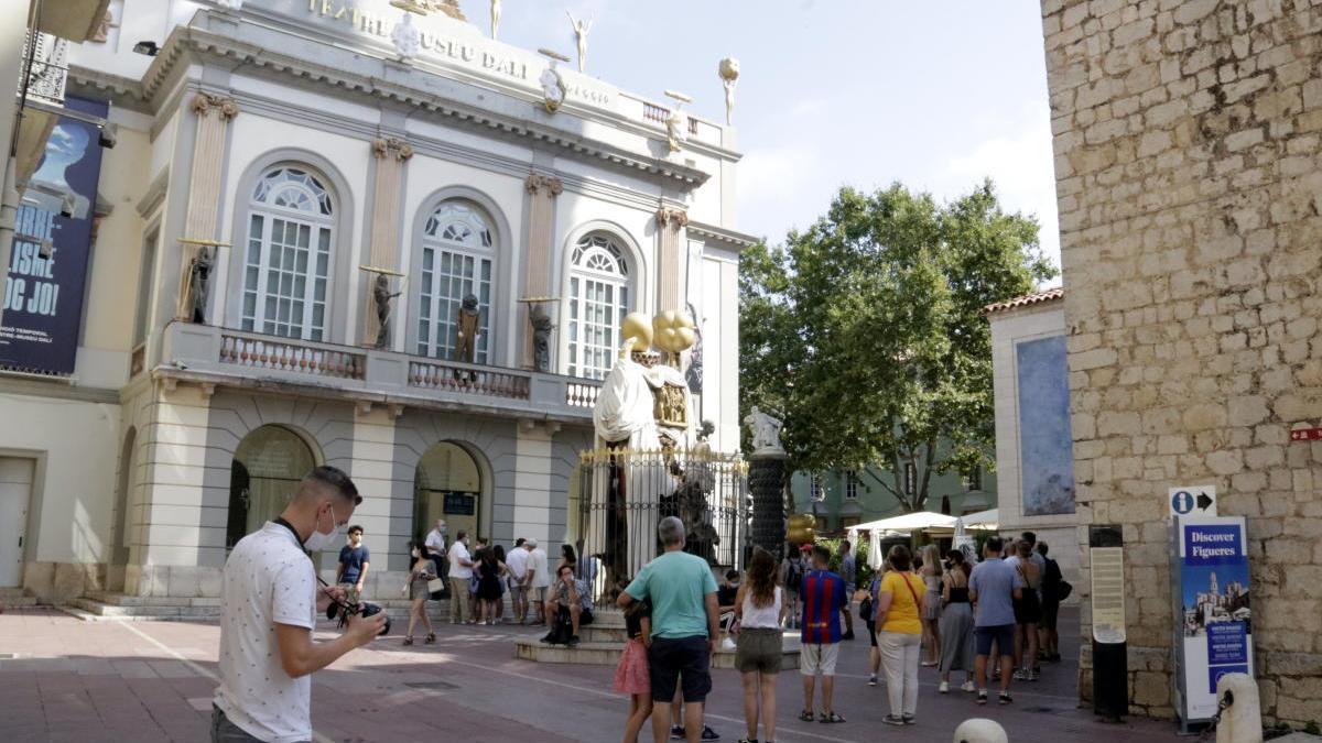 El museu Dalí de Figueres aquest estiu.