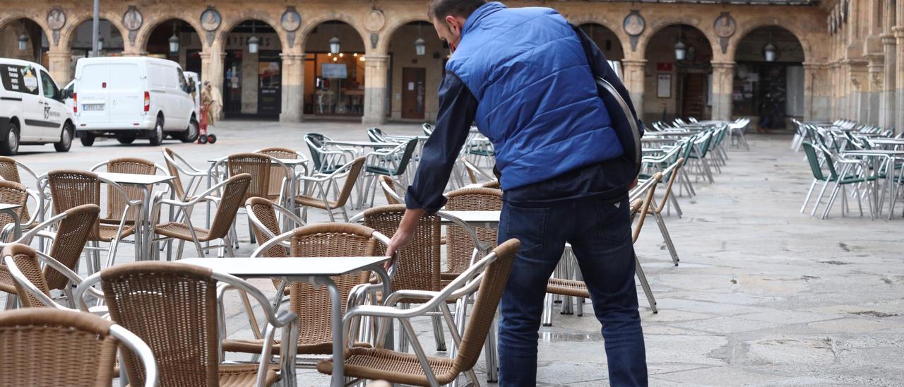 Reapertura de bares y restaurantes en Salamanca