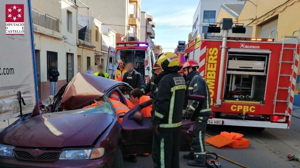 Accidente en Moncofa