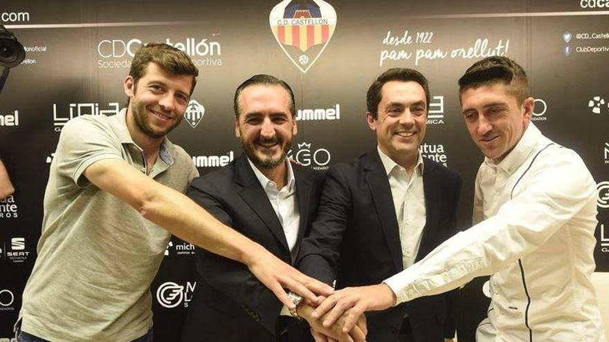 Dealbert y Pablo Hernández dejan la secretaría técnica del CD Castellón
