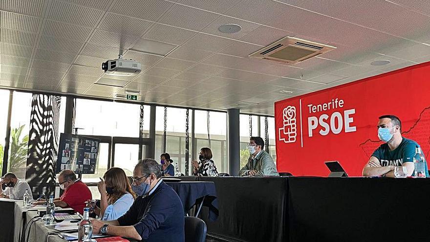 El comité insular del PSOE aprueba la gestión de la Ejecutiva con el 99% de votos