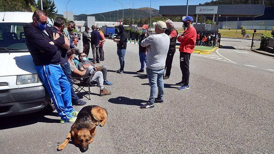 Primera jornada de negociación en la huelga de DS Smith: sin acuerdo