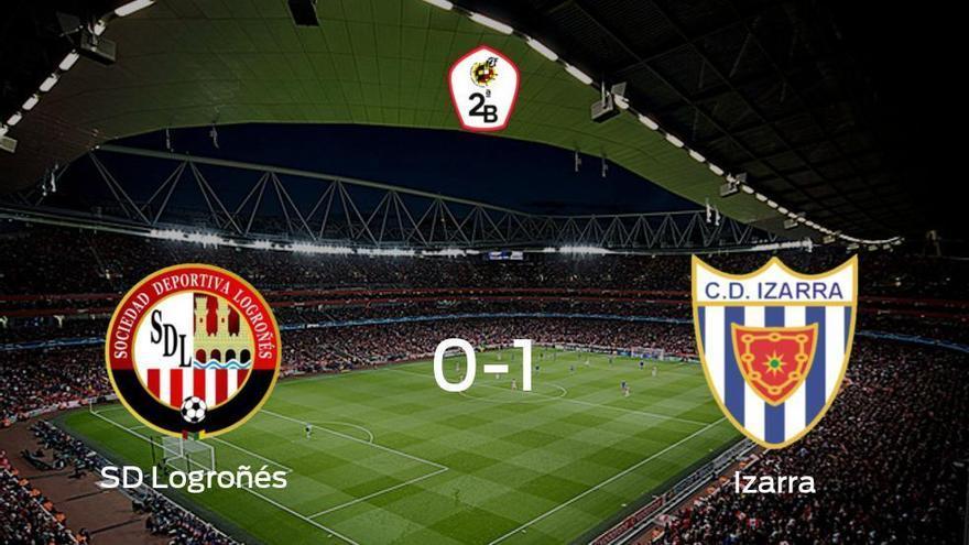 El Izarra se impone a la SD Logroñés por 0-1