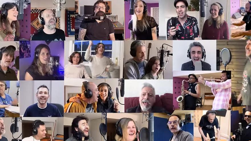Músicos y amigos rinden homenaje a Pau Donés