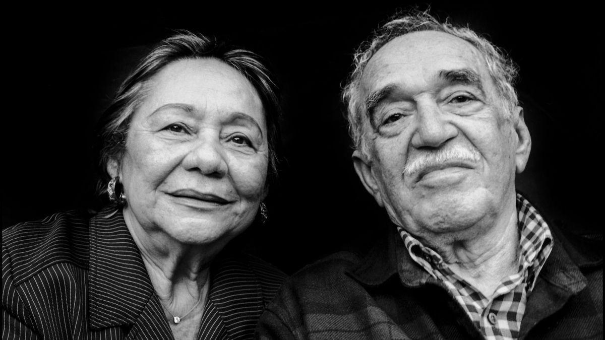 Mercedes Barcha y Gabriel García Márquez en el 2008, en Los Ángeles.