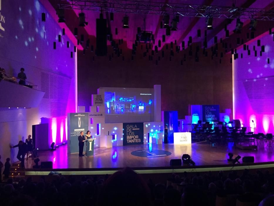 El escenario del ADDA durante un momento de la gala