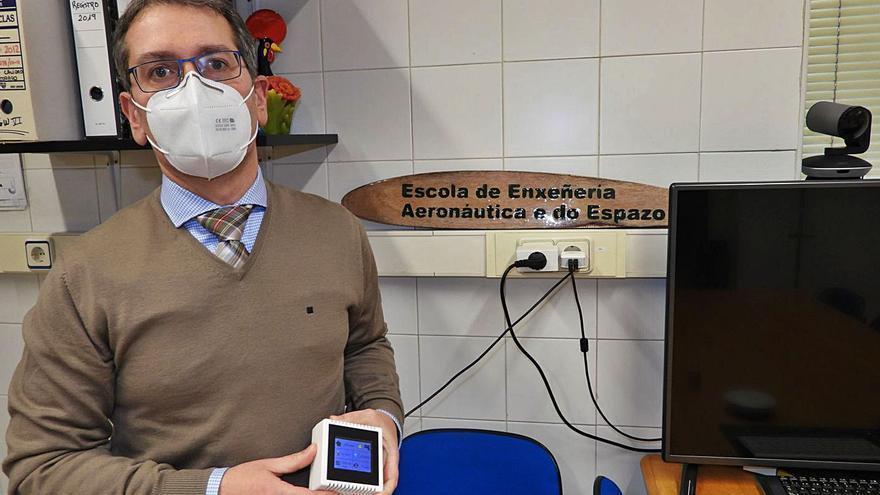 Innovación para las aulas gallegas: un sistema que vigila la calidad y tiempo de la ventilación