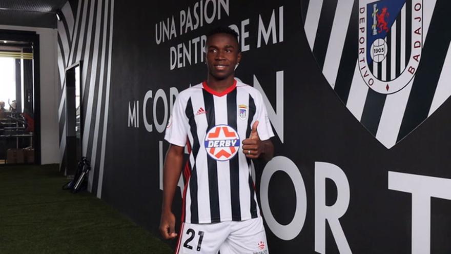 Yeiber Murillo, nuevo fichaje del CD Badajoz