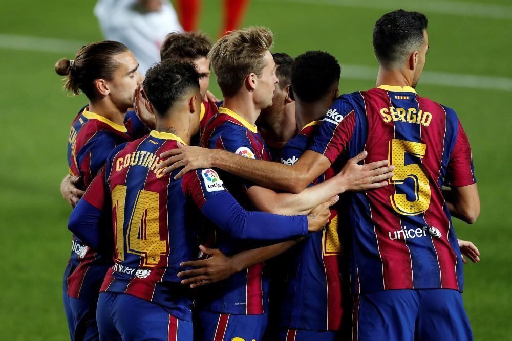 Barça - Sevilla, en imatges