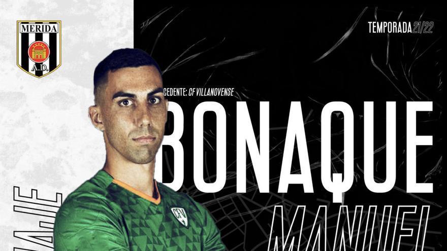 Bonaque, del Villanovense, primer fichaje del Mérida