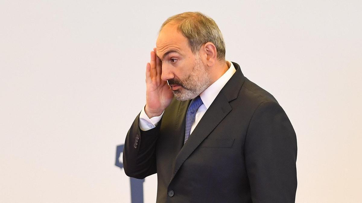 El primer ministro armenio, Nikol Pashinian