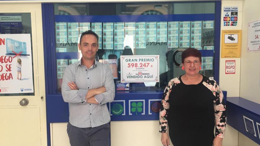 La quiniela deja un premio de casi 600.000 euros en la calle Colón de Castelló