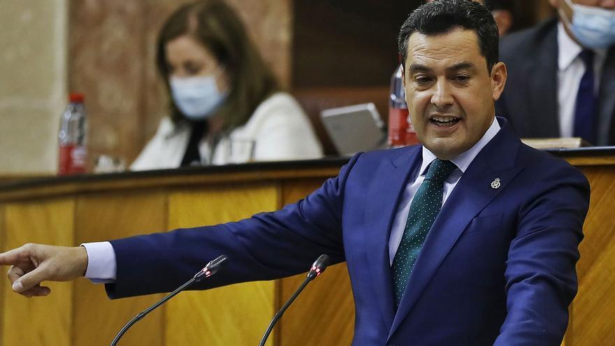 Los Presupuestos del 2022 de Andalucía encallan en el debate de la Comunidad