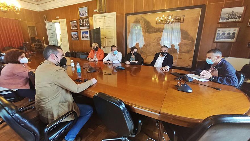 Los alcaldes de IU critican la gestión del Gobierno con los fondos de transición justa