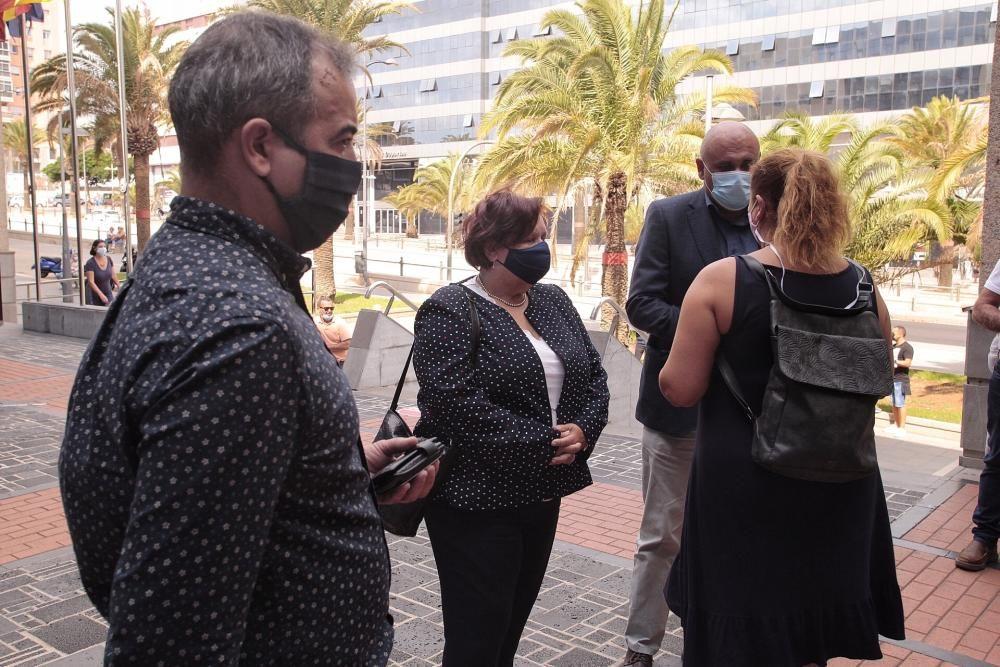 Juicio a la alcaldesa de San Juan de la Rambla Fidela Velázquez y Cayetano Silva