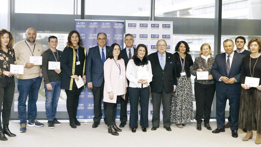 AMA reparte 60.000 euros en proyectos solidarios