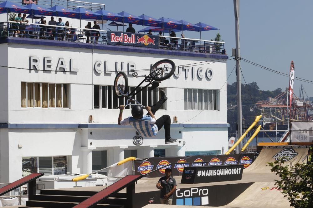 El BMX y el Skate nunca fallan a su cita con O Marisquiño.