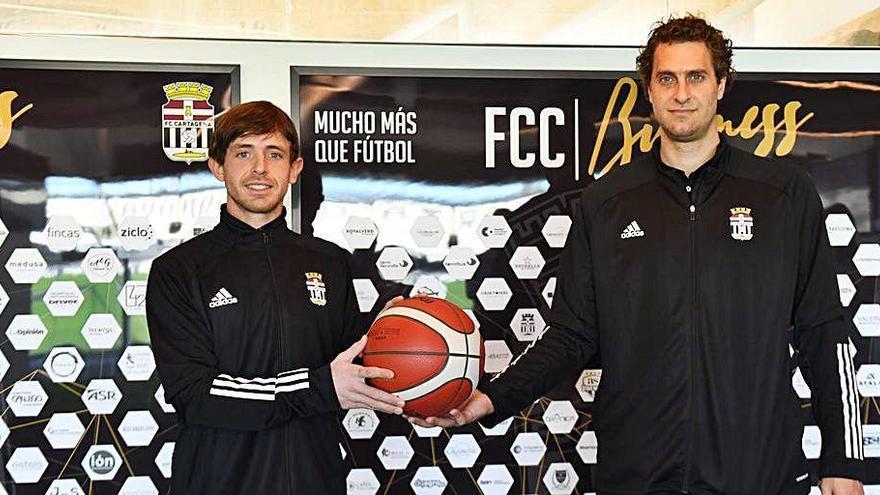 Juani Jasen y Marco Gaona refuerzan al FC Cartagena