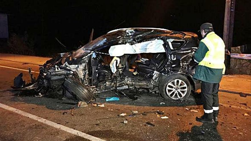 Un joven de 19 años muere tras chocar con su coche contra un muro en Gondomar