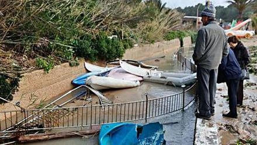 El director insular dice que el Gobierno subsanará parte de los daños de 'Gloria' en la isla