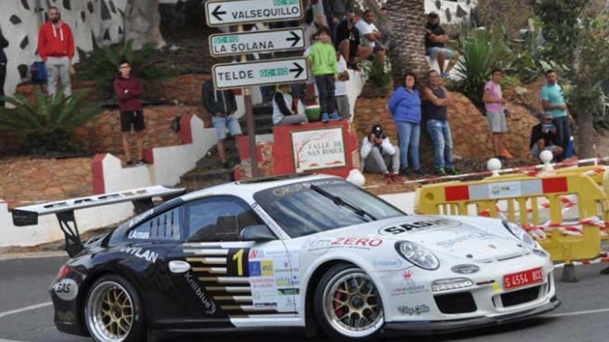 Iván Armas y Tino Guerra ganan el Rally Ciudad de Telde