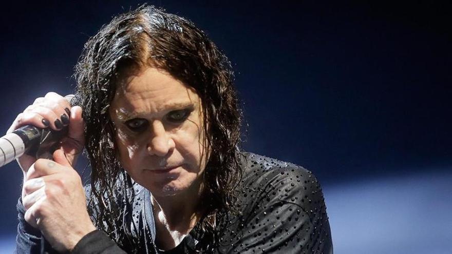 Ozzy Osbourne cancela su concierto en Barcelona.